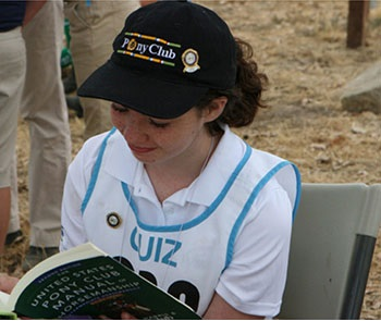 Quiz competitor review Pony Club Manual