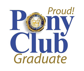 Pony Club Proud Graduate logo